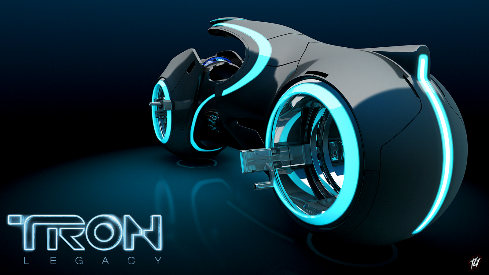 TRON - Light cycle finished by Paul-Muad-Dib on DeviantArt
