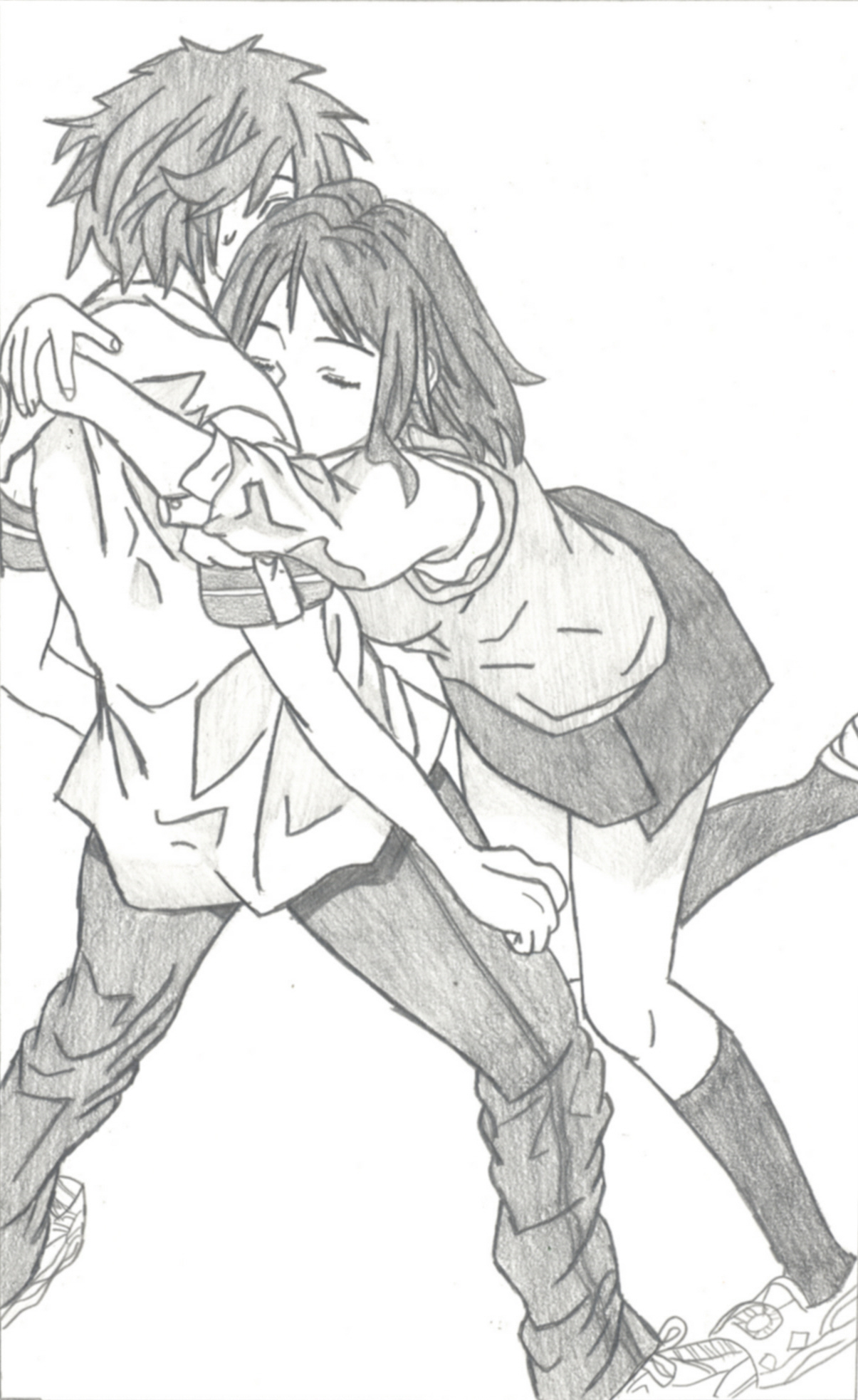 Friendly hug by salangley on deviantart