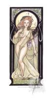 Art Nouveau Muse: Martini