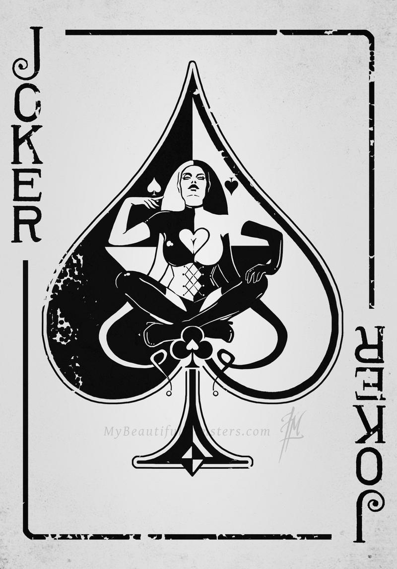 joker card art - photo #10