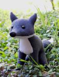Grey Fox Plush