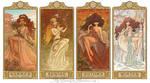 ElfQuest Art Nouveau Seasons