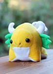 Yellow Gumdrop Dragon Plush