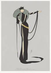 Art Deco - Catwoman