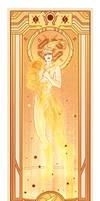 Samus Aran - Art Nouveau