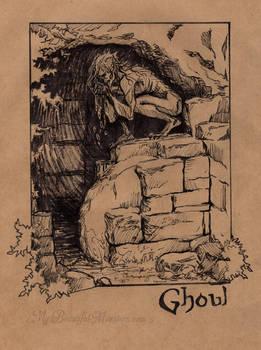 Ghoul - Inktober 2016