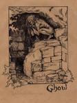 Ghoul - Inktober 2016 by MyBeautifulMonsters