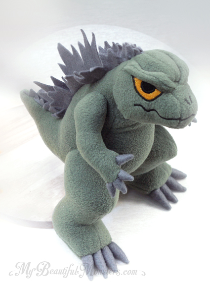Ty Puppies Stuffed Animals, Godzilla Plush By Mybeautifulmonsters On Deviantart