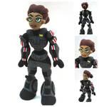 Custom Jane Shepard Plush by MyBeautifulMonsters