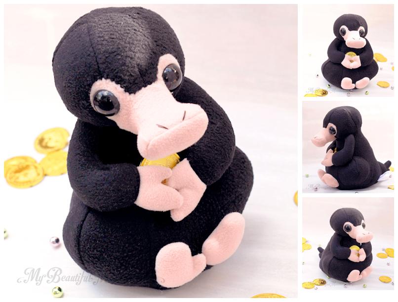 Niffler Plush Toy by MyBeautifulMonsters
