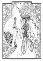 The Opal Knight by MyBeautifulMonsters