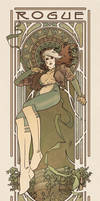 Art Nouveau Rogue by MyBeautifulMonsters