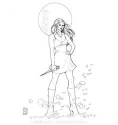 Buffy the Vampire Slayer by MyBeautifulMonsters