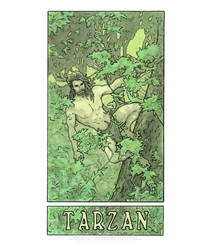 Tarzan by MyBeautifulMonsters
