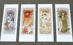 Ladies of X-Men Art Nouveau Prints for Sale
