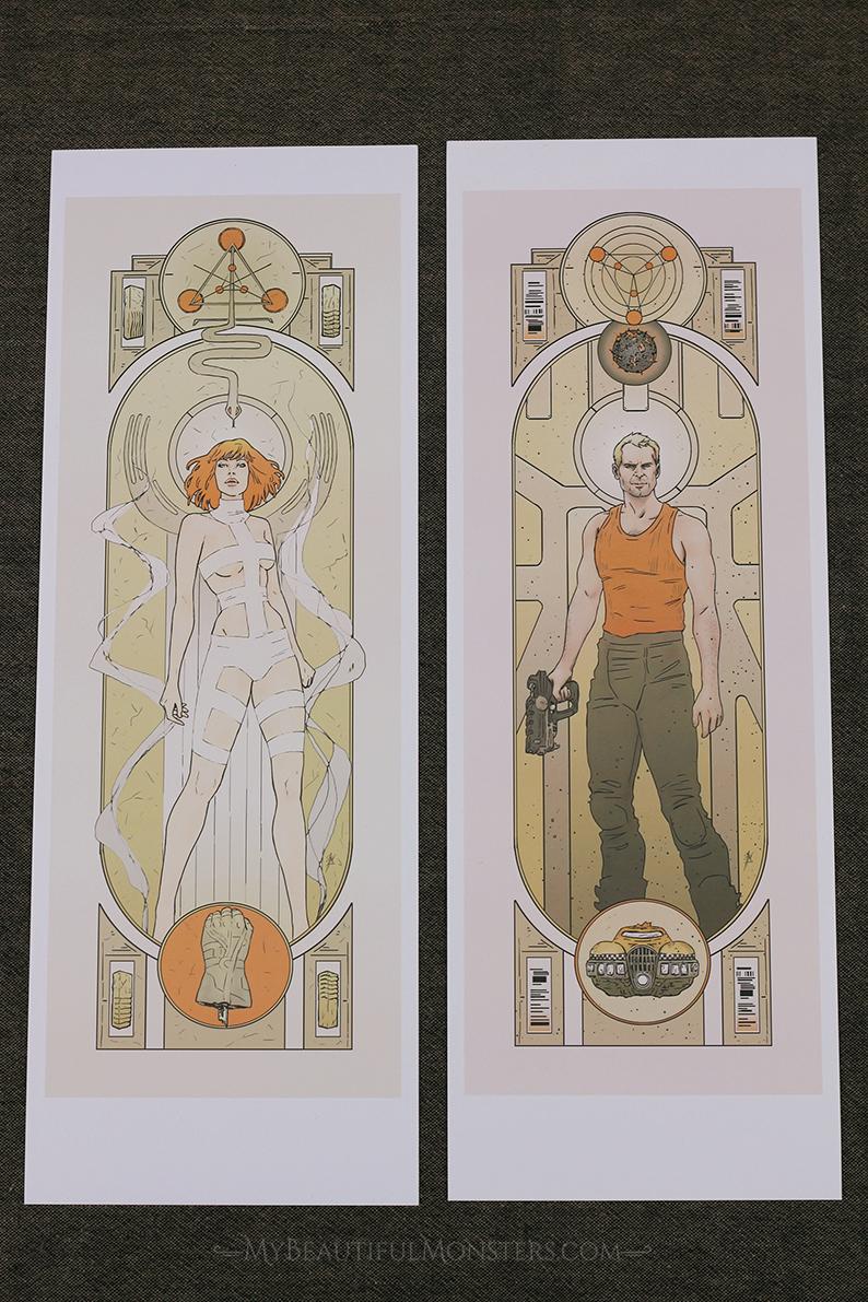 Fifth Element Pair Print MISPRINT DISCOUNT SALE