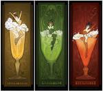 Vintage Drinks Posters