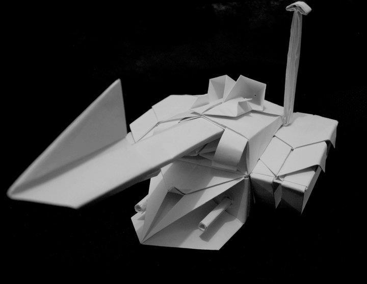 Origami Tank By Kamitoyz
