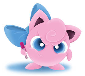 Angry Jigglypuff by See-past-the-madness
