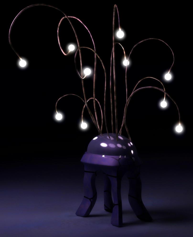Strange lights by Jim-Zombie