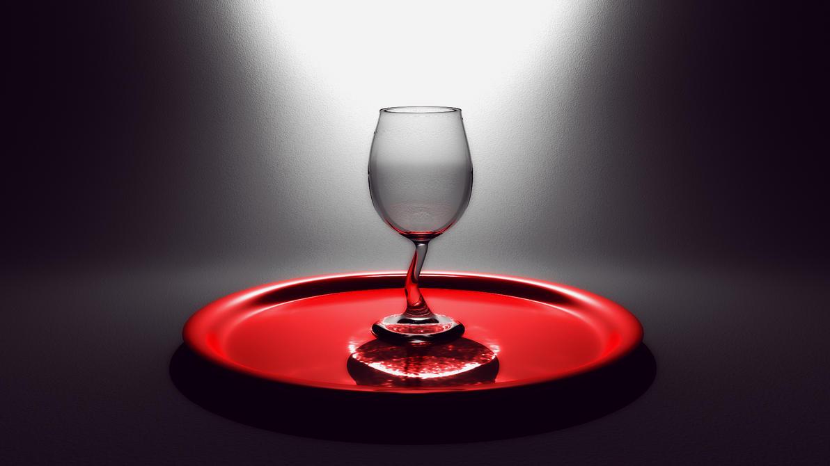 Wine Glass by Jim-Zombie