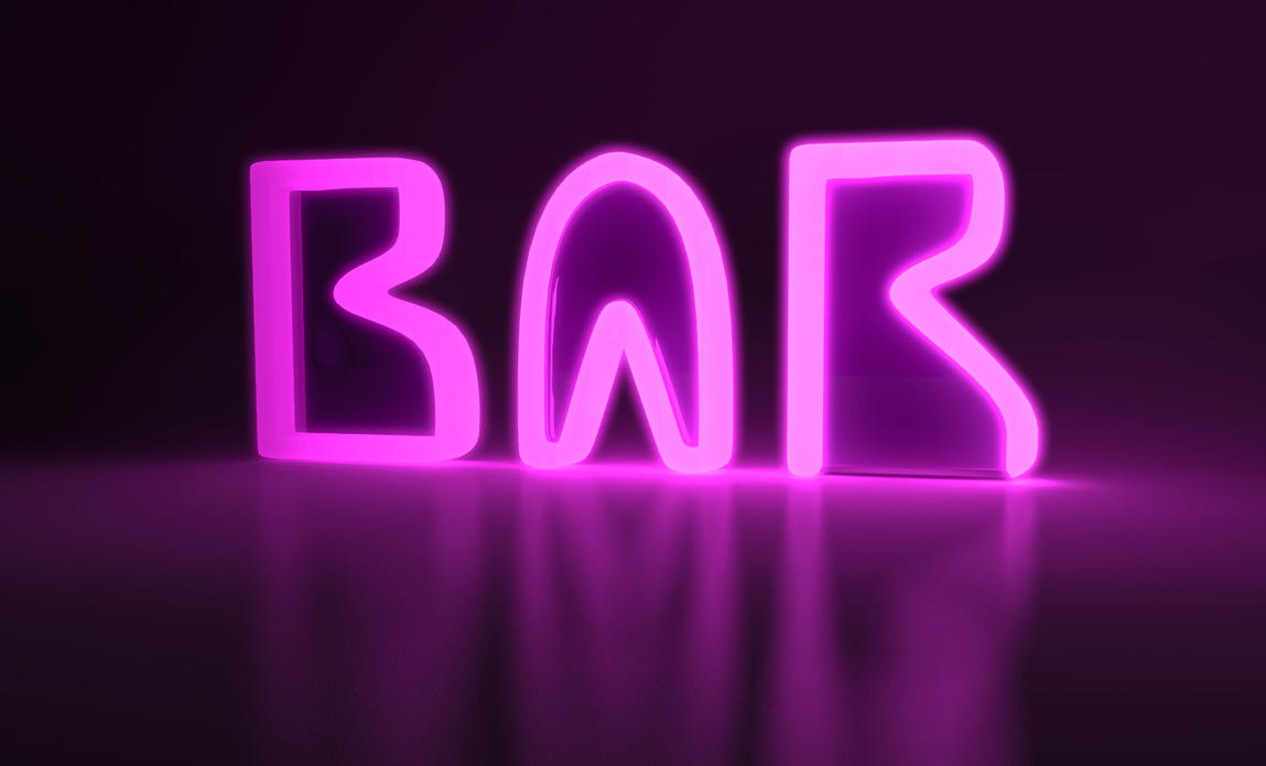 Bar Sign by Jim-Zombie