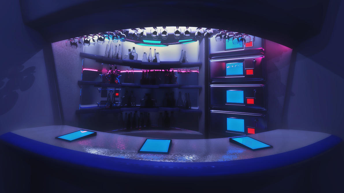 Corner Bar by Jim-Zombie