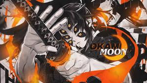 Okami Moon - Wallpaper - Kokushibo