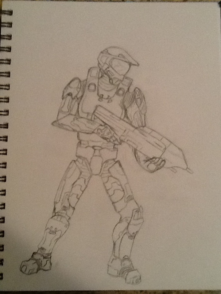 Master chief by Emdjoker64