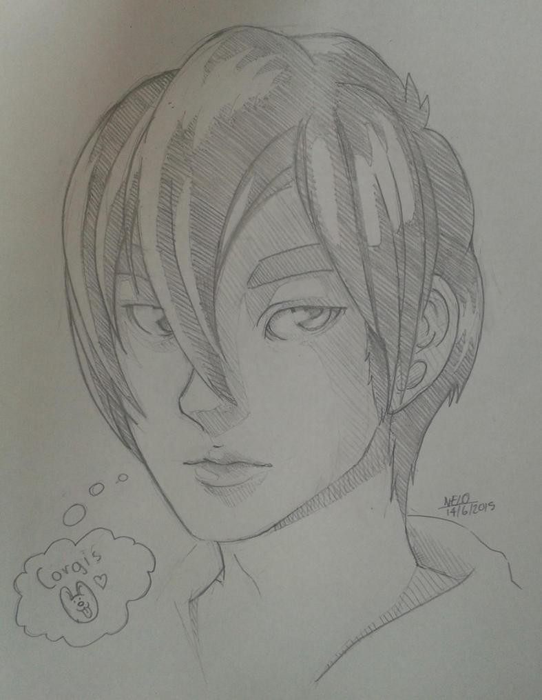 Yuuki Sketch #1 by puppisama