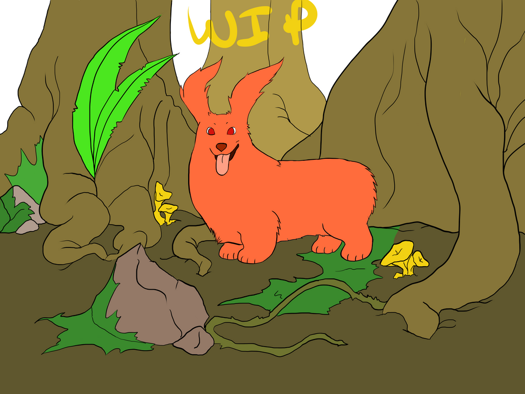 Momo The Beast WIP by puppisama