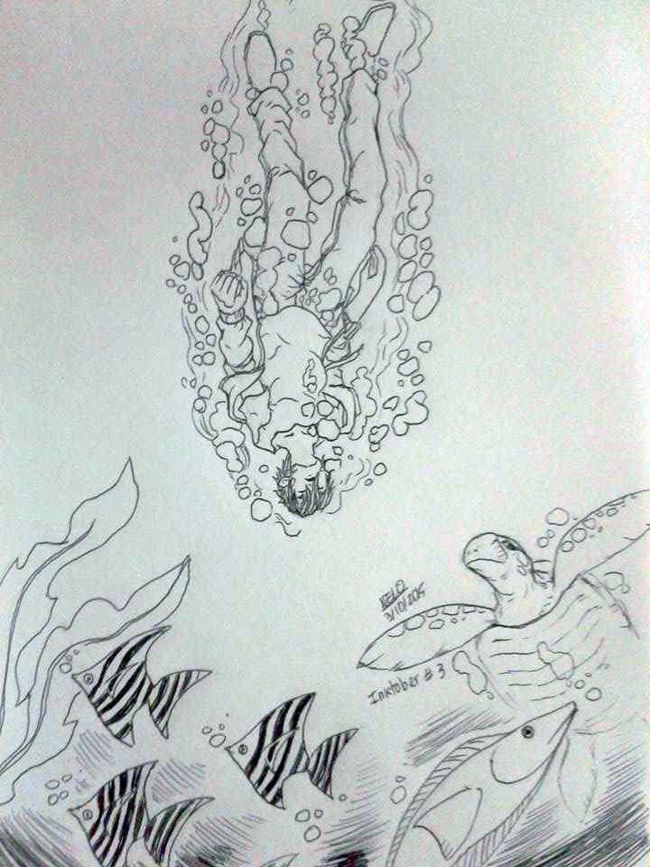 Drowning Boy by puppisama