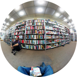 At the book store with a friend... by FatAsMatt