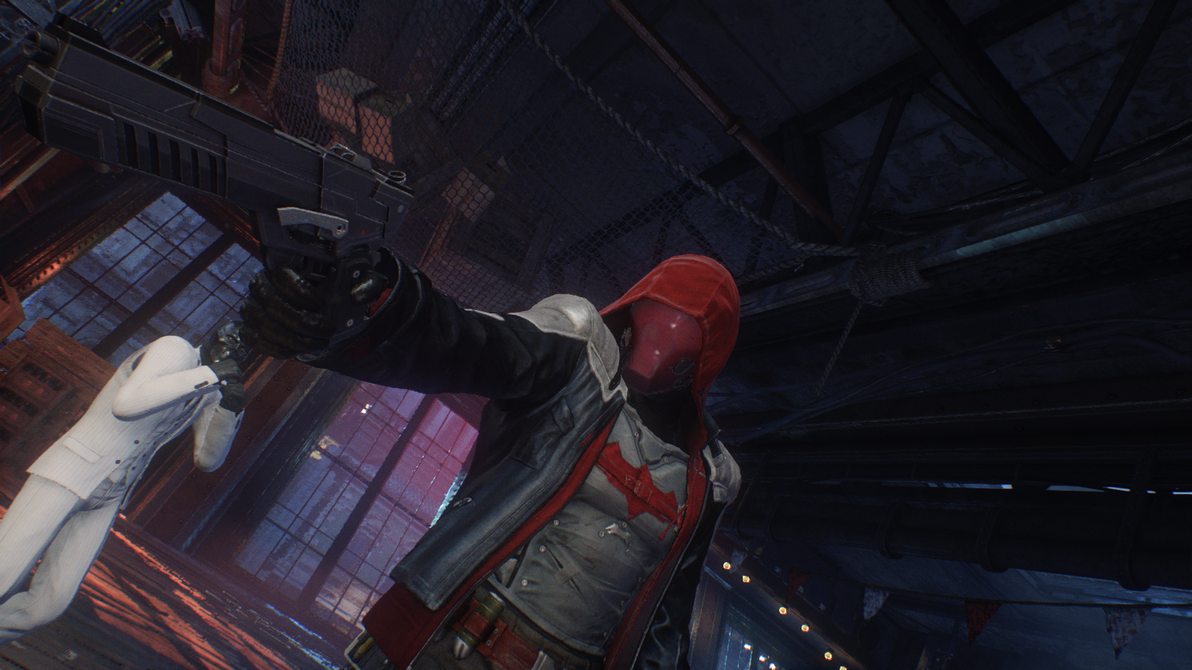 Red Hood (Arkham Knight) by TheEpicProphet on DeviantArt