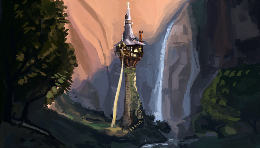 Tangled tower by nycktro on deviantart - Tangled tower wallpaper ...