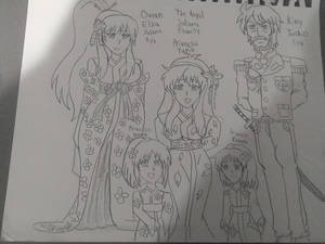 Yuna's family portrait