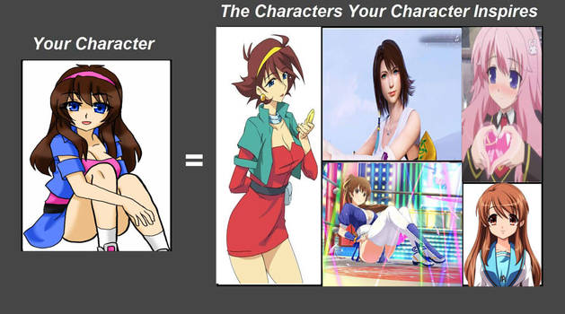 Yuna character inspiration meme