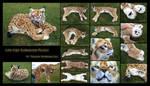 Life-Size Eurasian Lynx Plush Detail