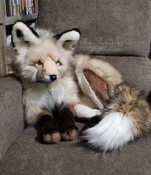 Ice and Fire Fox Plush #2
