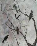 Inktober 2018 - Corvus corax