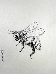 WIP - Bee by kronikinocnejzmory