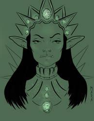 Goblin Queen by kronikinocnejzmory