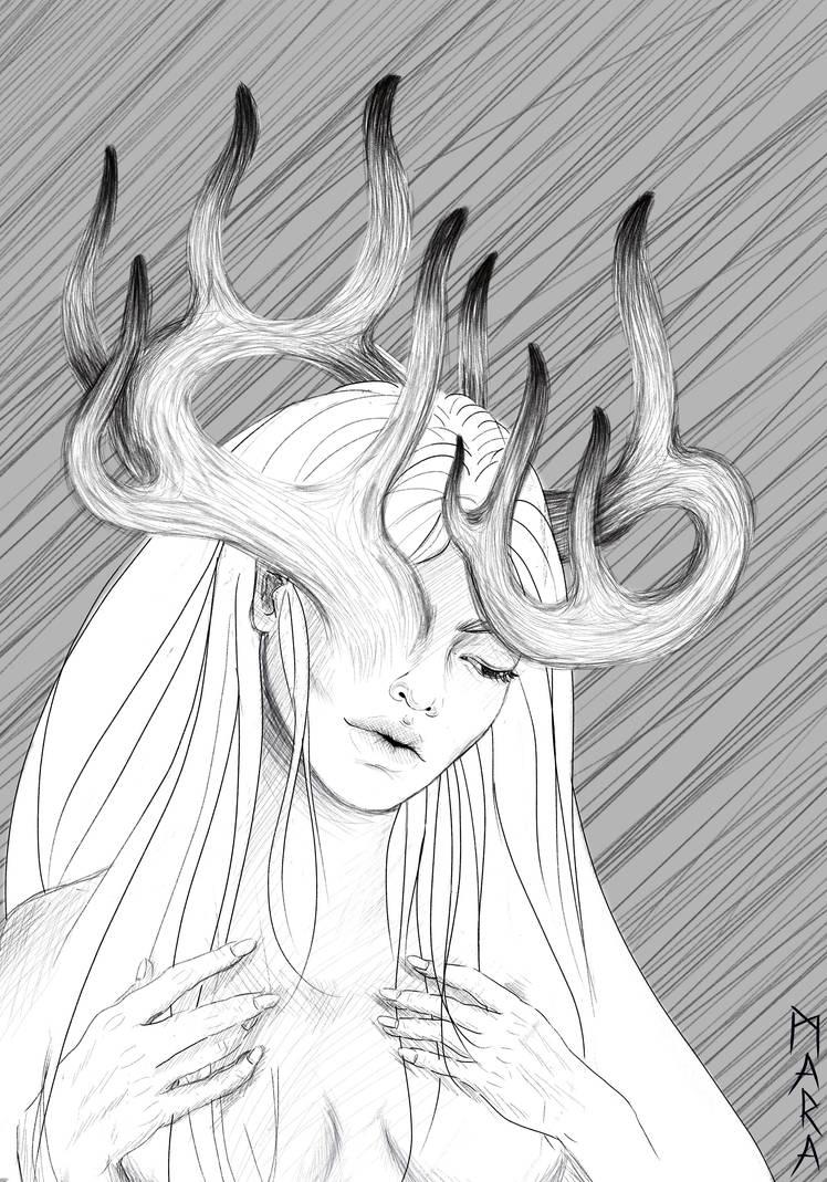 Crown - sketch by kronikinocnejzmory