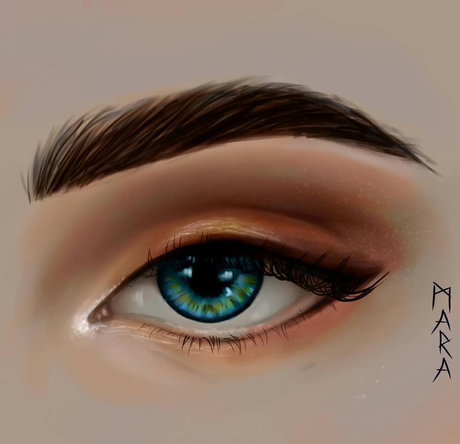Eye by kronikinocnejzmory