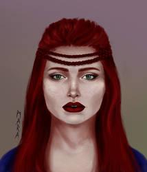 Redhead by kronikinocnejzmory