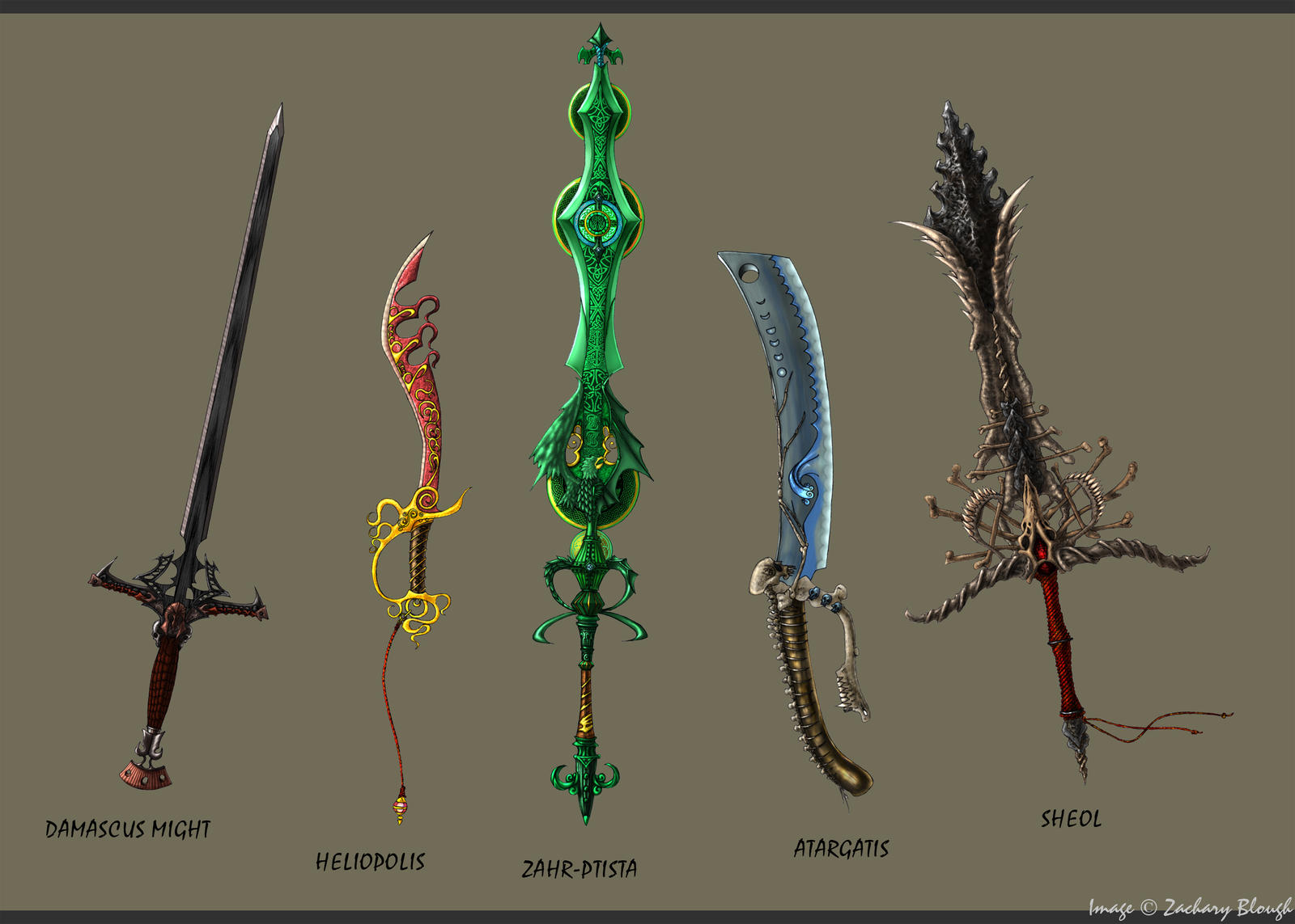Sword set 1 ceremonial by spiffnifty