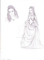 Mina Murray - Sketch