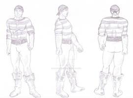Sailor - Character Design