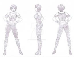 Fem Pirate - Character Design