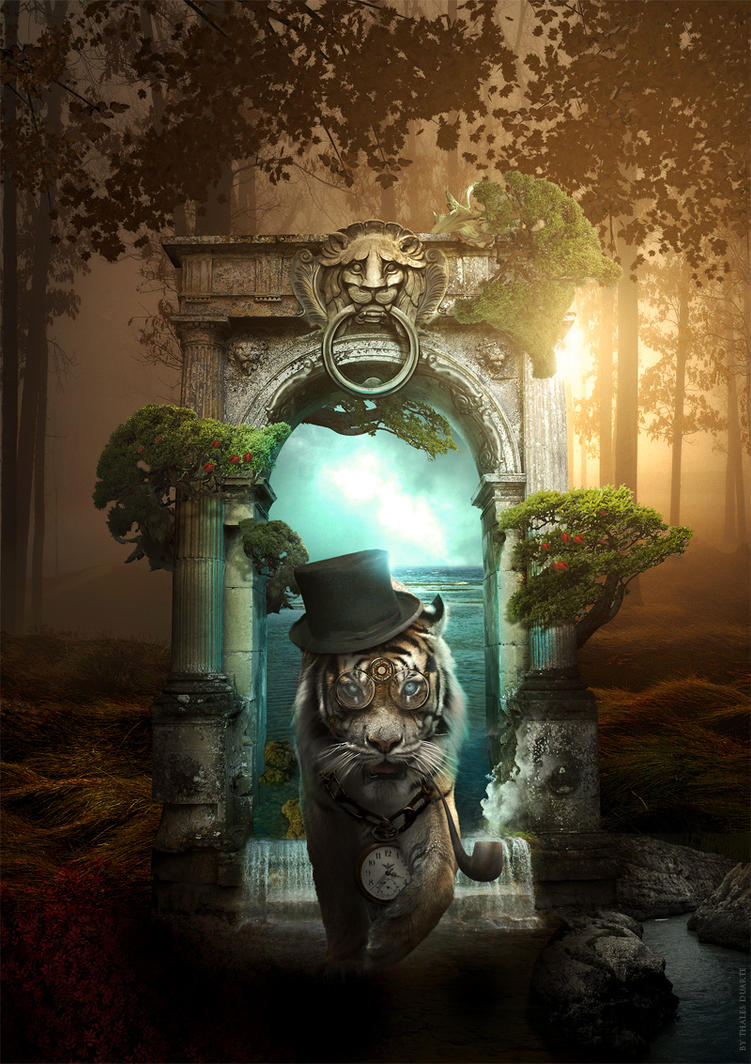 Old Tiger by LordVenomTLD